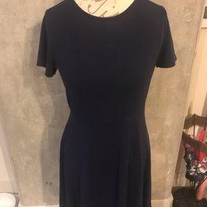 Blue Gap dress Gap Skater Dress